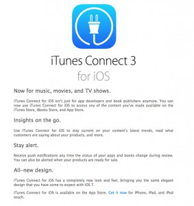 iTunesConnectinfo