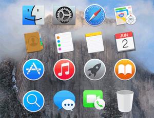 Yosemite Icons