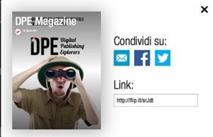 CondividiMagazineDPE