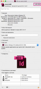 Ridurre file indesign