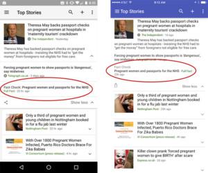 fake news google