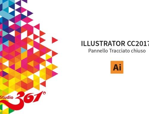 ILLUSTRATOR CC2017: Pennello Tracciato Chiuso