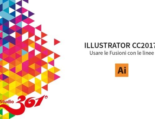 ILLUSTRATOR CC 2017: Usare le Fusioni con le linee