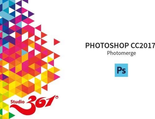PHOTOSHOP CC 2017: Photomerge