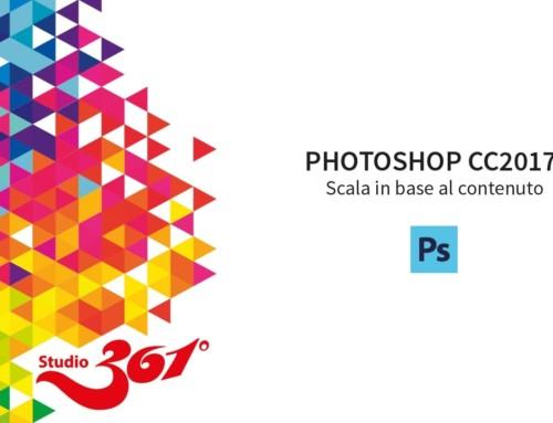 PHOTOSHOP CC 2017: Scala in base al contenuto