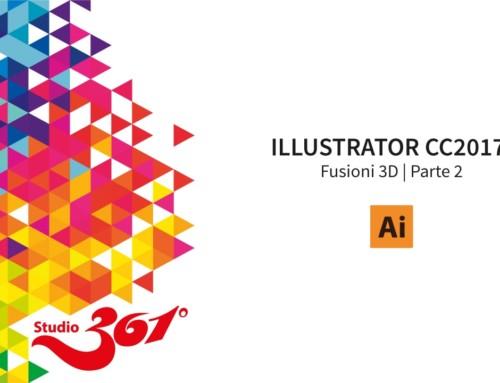 IILUSTRATOR CC2017: Le Fusioni 3D | Parte 2