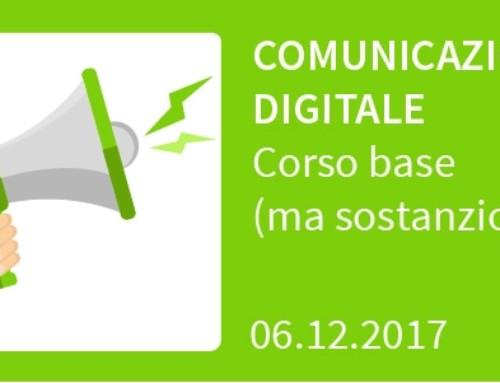 Comunicazione digitale, corso base (ma sostanzioso!)