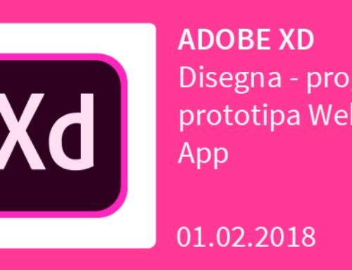Adobe XD da 0 a 100 in un solo giorno