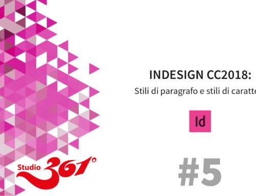 InDesign CC 2018: Stili di paragrafo e stili di carattere #5