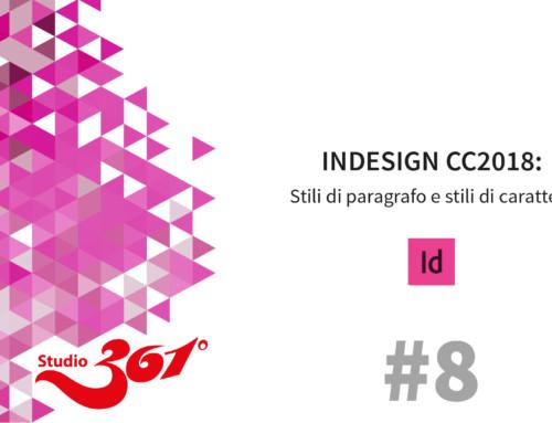 InDesign CC 2018: Stili di paragrafo e stili di carattere #8