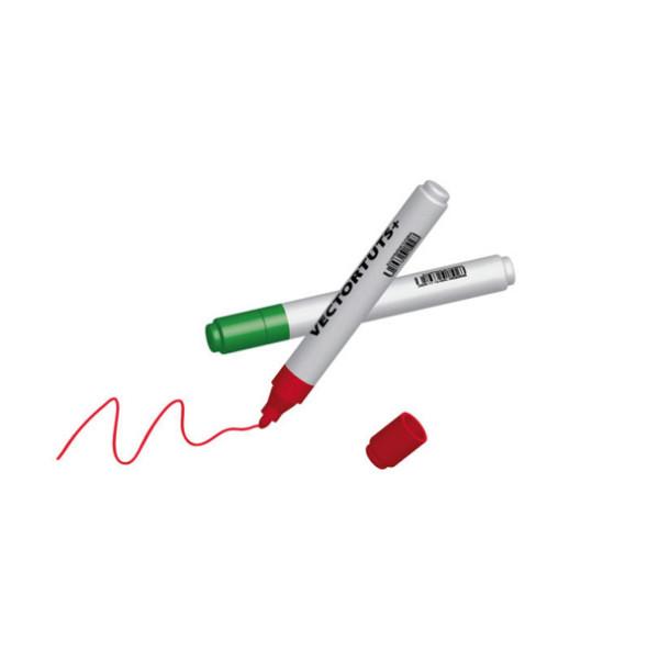 Creare-pennarelli-3D con adobe illustrator