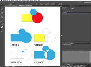 elaborazione tracciati in adobe illustrator