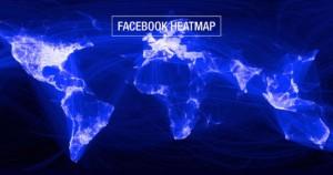 Facebook heatmap