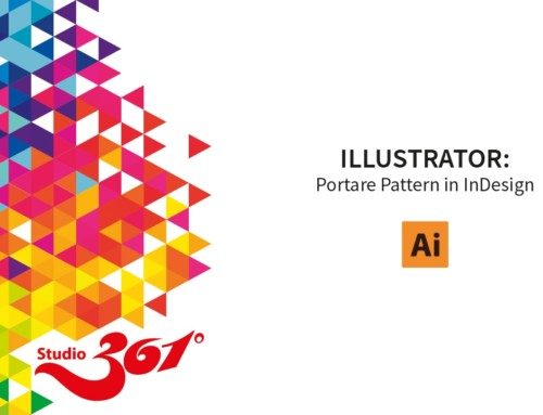 ILLUSTRATOR: Portare Pattern in InDesign