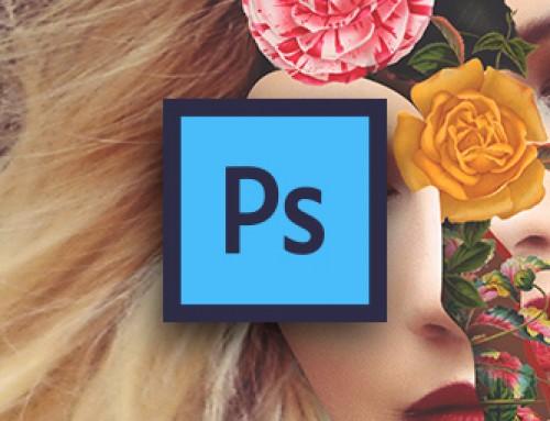 Fotomontaggio: creare un ritratto floreale