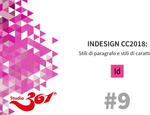 InDesign CC 2018: Stili di paragrafo e stili di carattere #9
