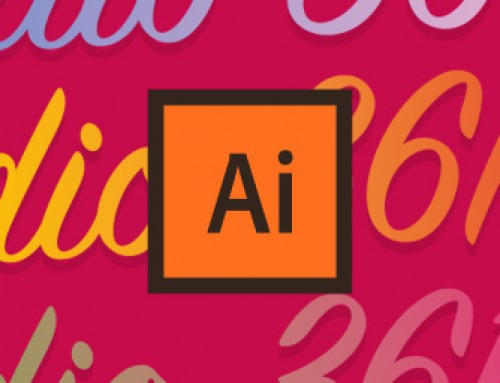 Applicare sfumature ai testi in Illustrator