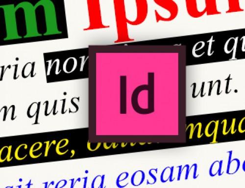 3 trucchi per vedere il colore esatto del testo selezionato in InDesign