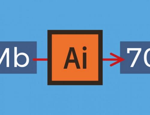 9 modi per ridurre al minimo le dimensioni del file in Illustrator