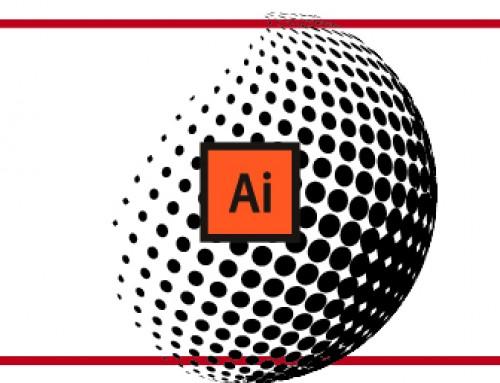 Realizzare una sfera 3D con l'effetto Halftone in Illustrator