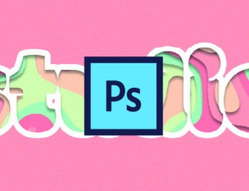 """Testo effetto """"ritaglio di carta"""" con Photoshop"""