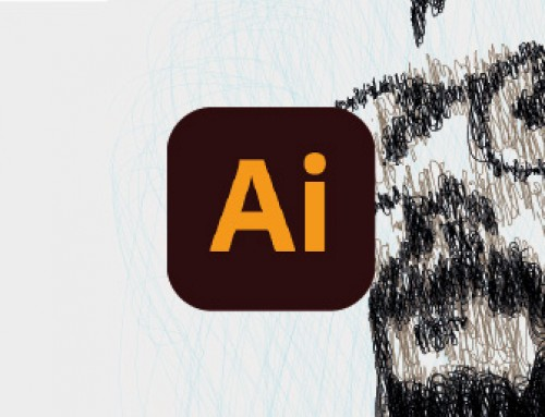 Schizzo vettoriale di un ritratto con Adobe Illustrator